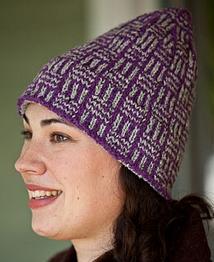 Tahki Tara Tweed Parallax Hat Kit - Hats and Gloves