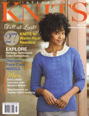 Interweave Knits Magazine - '10 Fall