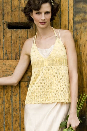 Tahki Cotton Classic Dairy Maid Camisole Kit - Women's Sleeveless