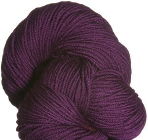 Plymouth Yarn Worsted Merino Superwash Yarn - 15 Plum