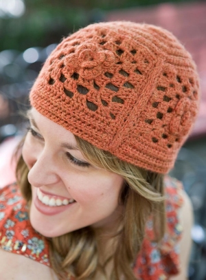 Berroco Vintage Echelon Hat Kit - Crochet for Adults