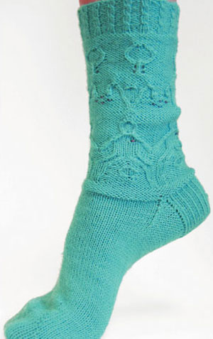 Skacel Ovarian Cancer Support - The 'Egg-stra' Special Sock