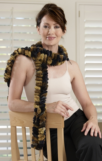 Trendsetter Frivola Basic Garter Scarf Kit - Scarf and Shawls