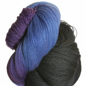 Lorna's Laces Helen's Lace Yarn - Blueberry Snowcone