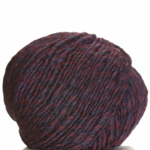 Debbie Bliss Glen Yarn - 10 Red, Blue Marl