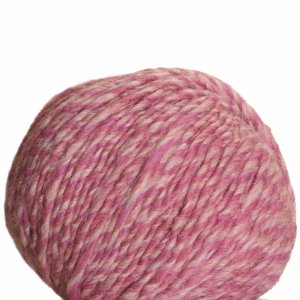 Debbie Bliss Glen Yarn - 12 Hot Pink, Lt Pink Marl