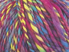 Rowan Chunky Print Yarn - 077 - Girlie Pink with Yellow & Blue