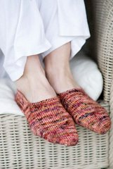 Churchmouse Classics Patterns - Turkish Bed Socks Pattern