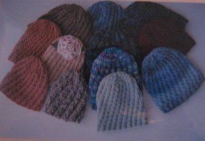 Ann Norling Patterns - 54 - Spiral Rib Hat Pattern