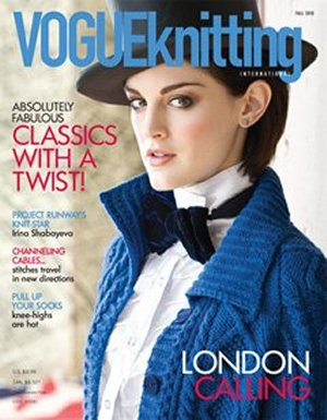 Vogue Knitting International Magazine - '10 Fall