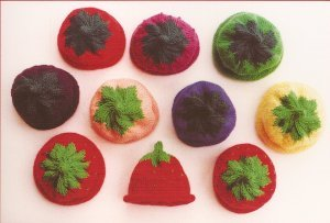 Ann Norling Patterns - 10 - Kids Fruit Cap