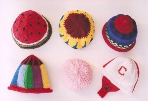 Ann Norling Patterns - 30 - More Kids Caps Pattern