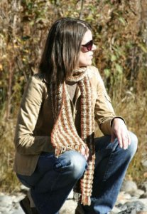 Rowan Lima Make No Mistake Scarf - Knit Version Kit - Scarf and Shawls