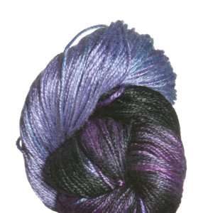 Lorna's Laces Pearl Yarn - Blueberry Snowcone