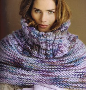 Misti Alpaca Super Chunky Hand Paint Wrapture Cowl Kit - Scarf and Shawls