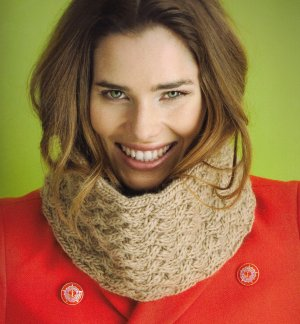 Rowan Cocoon Haute Cowl-ture Cowl Kit - Scarf and Shawls