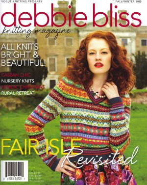 Debbie Bliss Knitting Magazine - '10 Fall/Winter