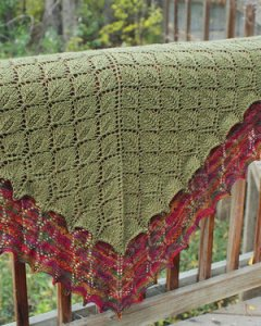 Fiber Trends Pattern Patterns - Leaf Lace Shawl Pattern