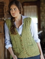 Tahki Tara Tweed Evergreen Vest Kit