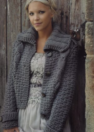 Rowan Big Wool Ember Jacket Kit - Women's Cardigans