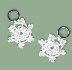 Lantern Moon Stitch Markers - Snowflake (Discontinued)