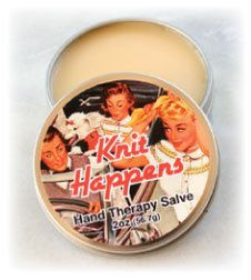 Alsatian Soaps & Bath Products Knit Happens Hand Therapy Salve - Fragrance Free