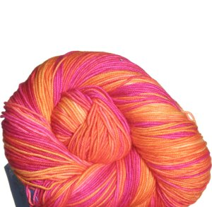 Colinette Jitterbug Yarn - 092 Ruby Saffron (Discontinued)