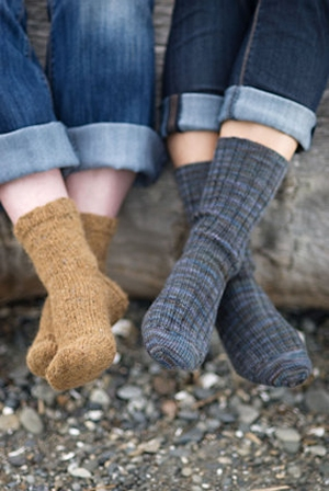 Churchmouse Classics Patterns - Basic Sock Pattern