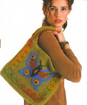 Nashua Creative Focus Wooly Stripes Butterfly Bag Kit - Women's Accessories