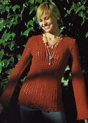 Cascade Sierra Unseamly Crochet Sweater Kit - Crochet for Adults