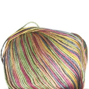 Laines du Nord Mulberry Silk Yarn - 5002 Blue, Green, Yellow, Orange