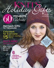 Interweave Knits Magazine - '10 Holiday Gifts