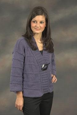 Plymouth Galway Worsted Jacket Cardigan Kit - Women's Cardigans