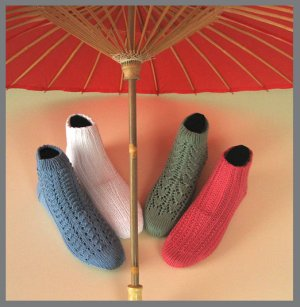 Knitting at Knoon Patterns - Cool Socks to Knit for Warm Weather Pattern