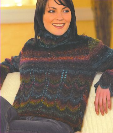 Noro Silk Garden Mavis Kit - Women's Pullovers