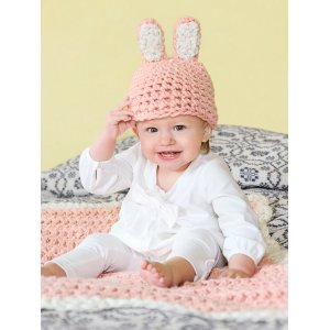 Spud & Chloe Patterns - Bunny Hat and Blanket Pattern