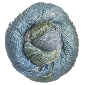 Hand Maiden Sea Silk Yarn - November Sky