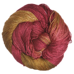 Hand Maiden Sea Silk Yarn - Red Maple
