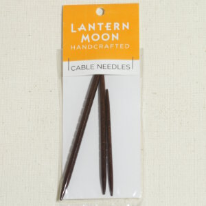 Lantern Moon Cable Needles - Ebony