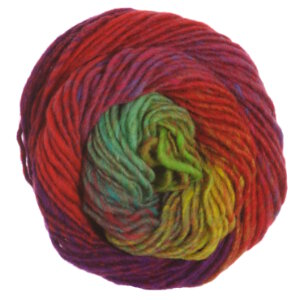 Noro Kureyon Yarn - 272 Reds/Purple/Mint/Yellow (Discontinued)