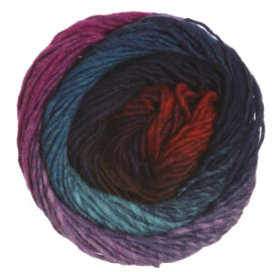 Noro Kureyon Yarn - 277 Fuschia/Teal/Red/Purple (Discontinued)