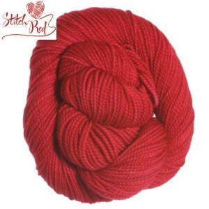 Koigu KPM Solid Yarn - 1100 (Stitch Red)