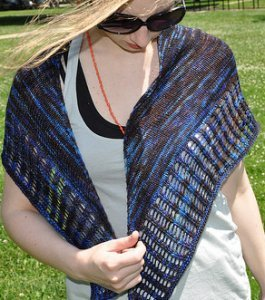 Handmaiden Casbah Little Colonnade Shawl Kit - Scarf and Shawls