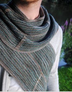 Madelinetosh Tosh Merino Light Clockwork Shawl Kit - Scarf and Shawls