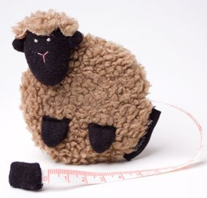 Lantern Moon Tape Measures - Beige Sheep Measuring Tape