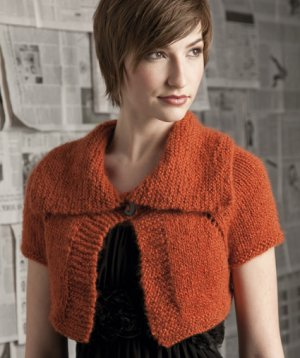 Nashua Paradise Top-Down Shrug Collar Kit - Women's Cardigans