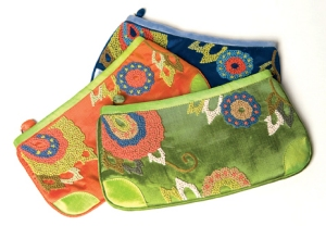 Lantern Moon French Knot Case - French Knot Case - Lime
