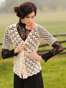 Blue Sky Alpacas Adult Clothing Patterns - Valerie's Cardigan Pattern