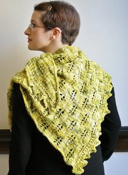 Lorna's Laces Cilantro Shawl Kit - Scarf and Shawls