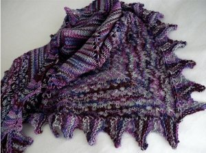 Lorna's Laces Shepherd Sock Karen Shawl Kit - Scarf and Shawls